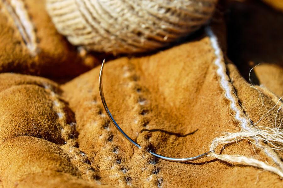 Lederuhrenarmband